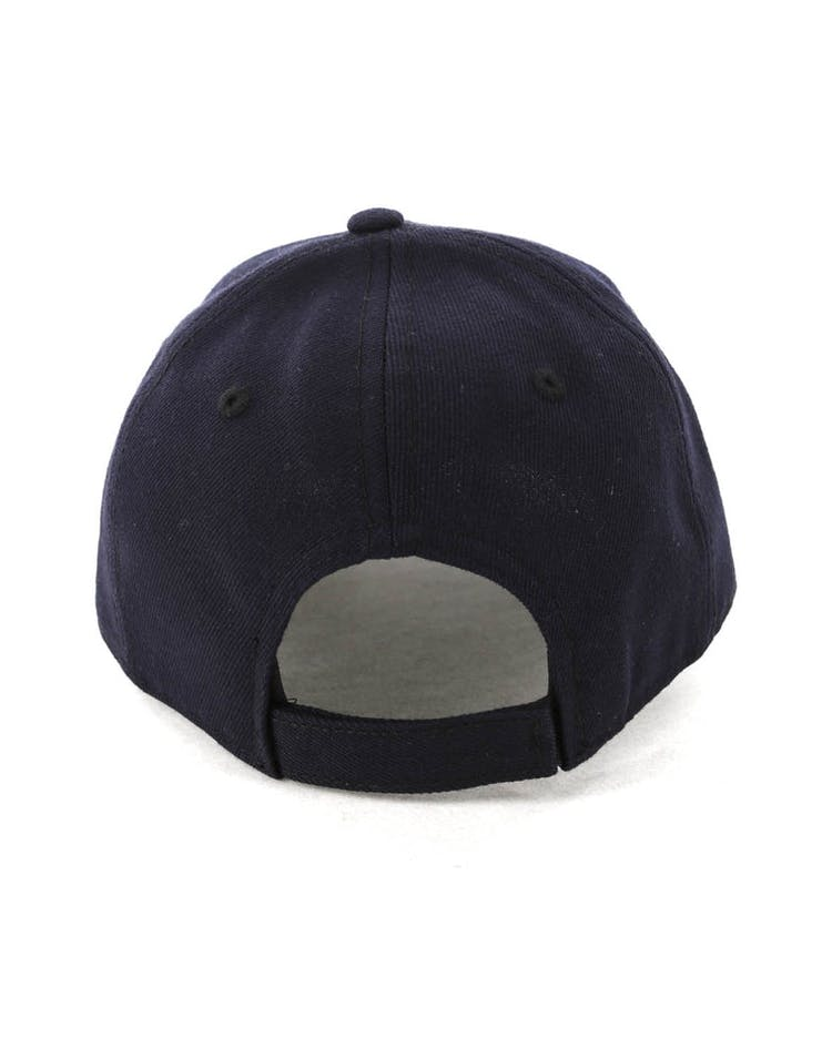the latest f5f10 a645d New Era Youth Milwaukee Brewers 9FORTY HookNLoop Navy