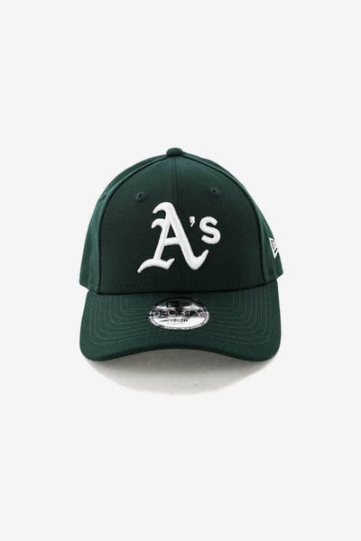 New Era Youth Oakland Athletics 9FORTY HookNLoop Dark Green