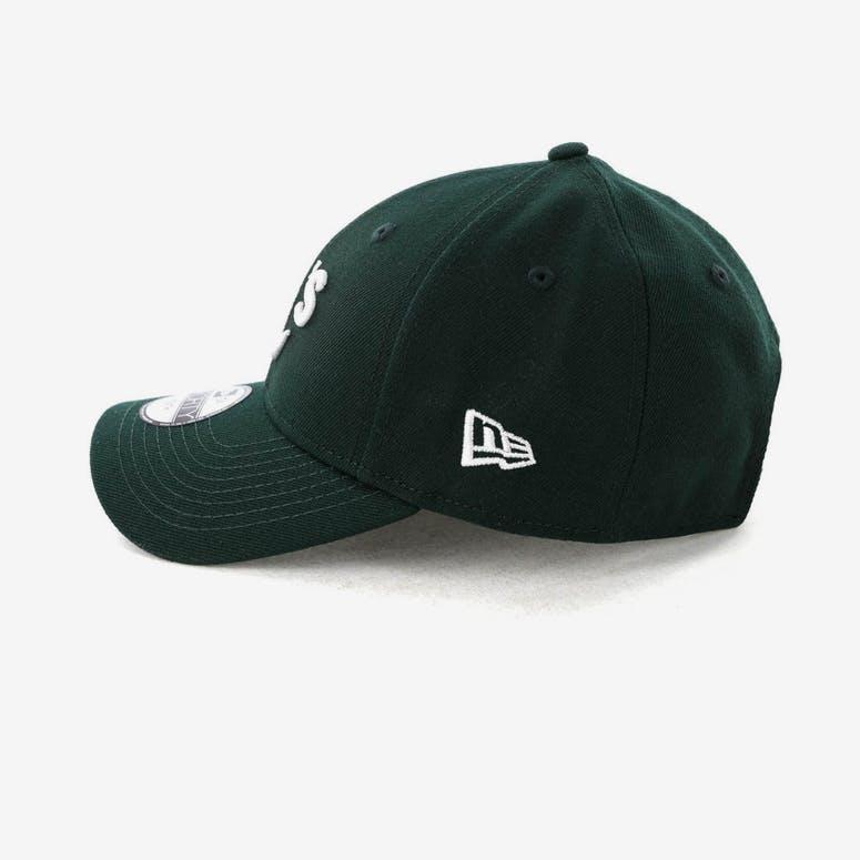 50d4fefc0b7 New Era Youth Oakland Athletics 9FORTY HookNLoop Dark Green ...