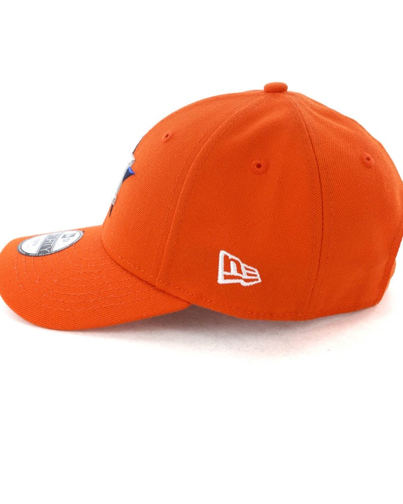 New Era Youth Houston Astros 9FORTY Hook N Loop Orange
