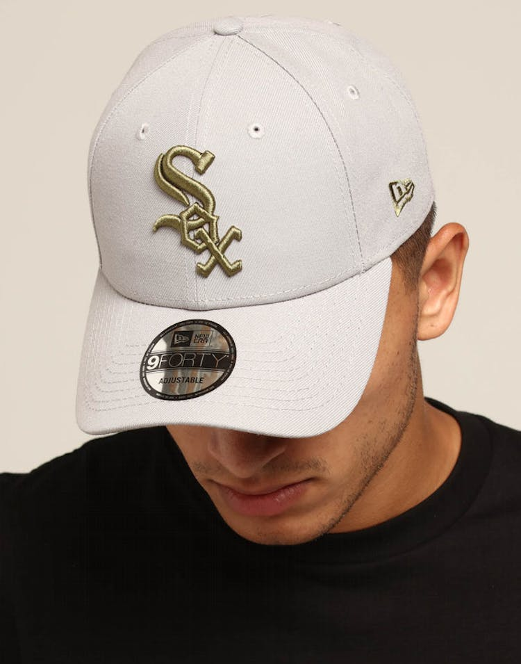 e5b418589bf9d0 New Era Chicago White Sox 9FORTY Snapback Grey/Olive – Culture Kings