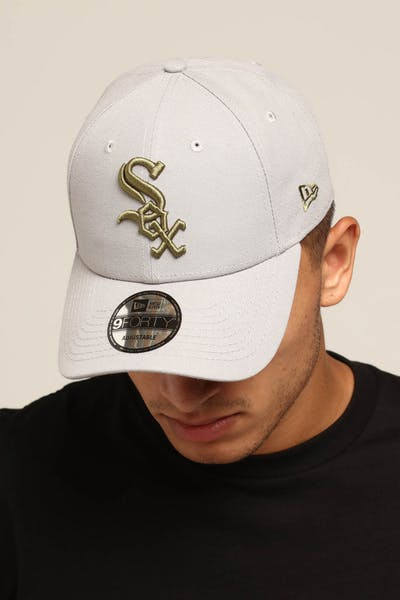 New Era Chicago White Sox 9FORTY Snapback Grey/Olive
