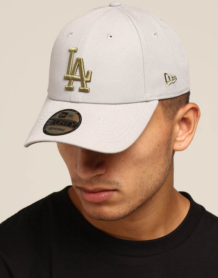 d9abe26c594f5 New Era Los Angeles Dodgers 9FORTY Snapback Grey Olive – Culture Kings