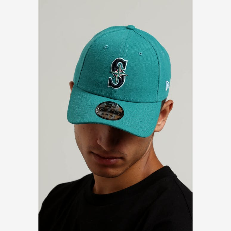 d599f7b24f8 New Era Seattle Mariners 9FORTY Snapback Dark Green – Culture Kings