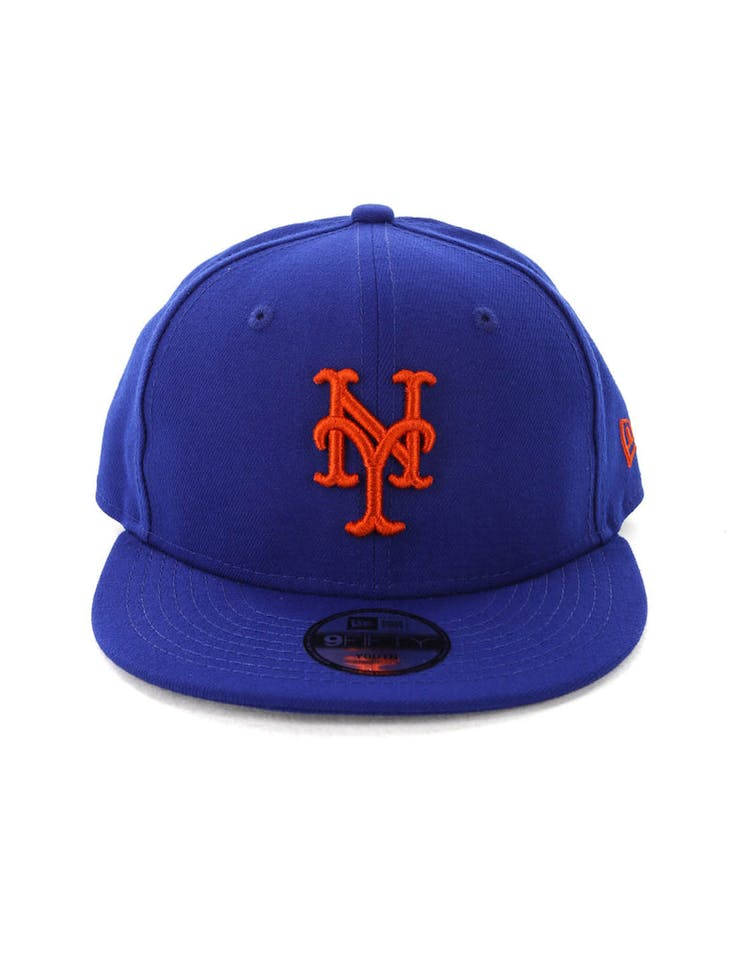 low priced d81d4 bb459 New Era Kids New York Mets 9FIFTY Snapback Blue – Culture Kings