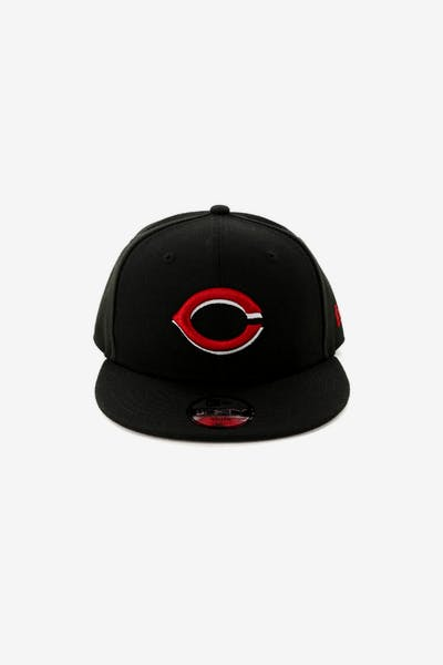 New Era Kids Cincinnati Reds 9FIFTY Snapback Black