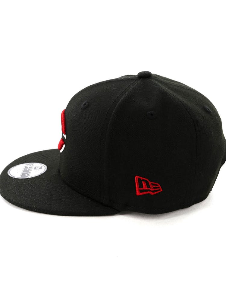big sale f2e6c 78e52 New Era Kids Cincinnati Reds 9FIFTY Snapback Black