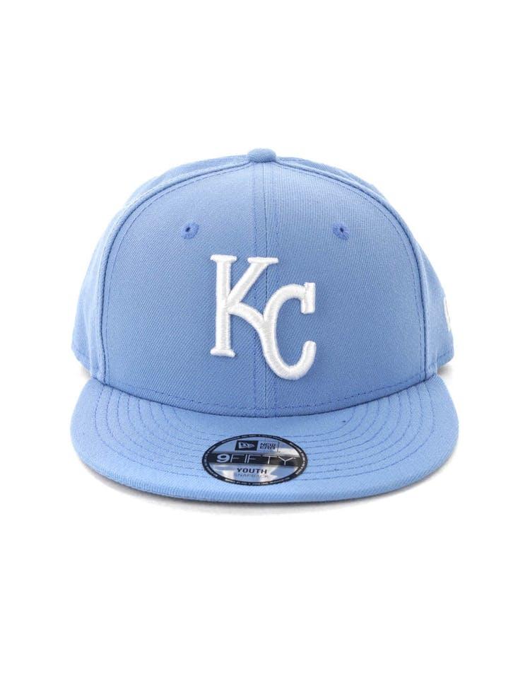 c57a1fde New Era Kids Kansas City Royals 9FIFTY Snapback Sky Blue