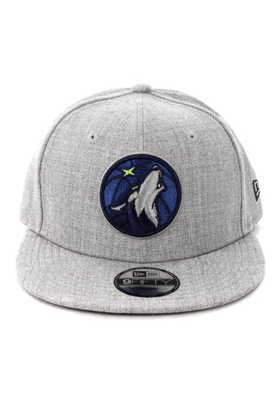 New Era Youth Minnesota Timberwolves 9FIFTY Snapback Heather Grey