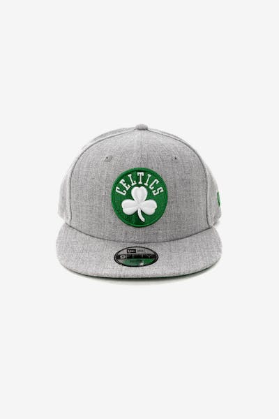 New Era Youth Boston Celtics 9FIFTY Snapback Heather Grey