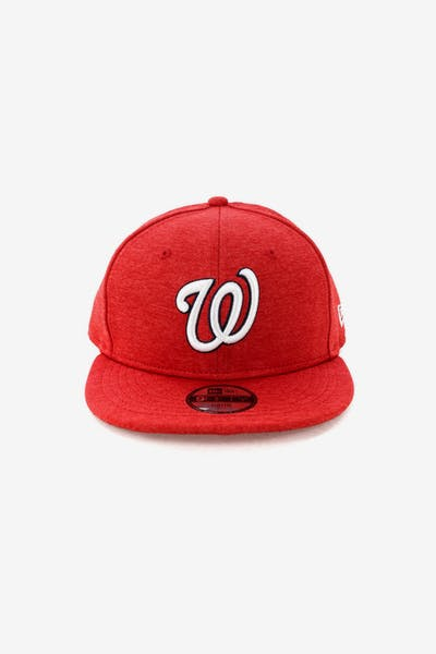 New Era Youth Washington Nationals 9FIFTY Tech Snapback Scarlet