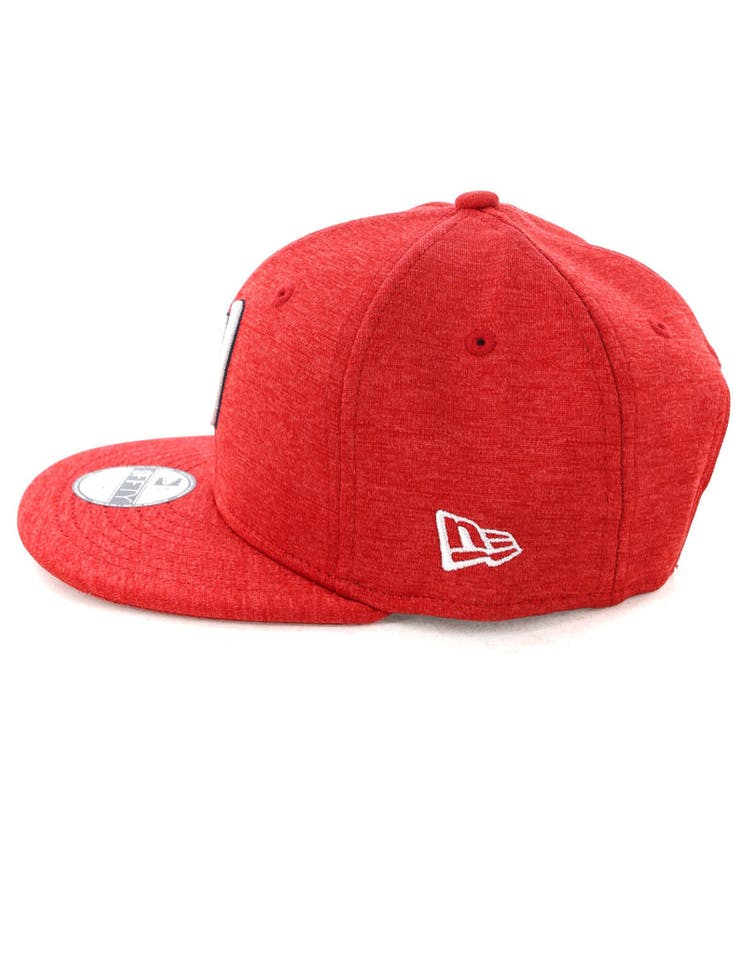 new arrival b9a6f 4608d New Era Youth Washington Nationals 9FIFTY Tech Snapback Scarlet