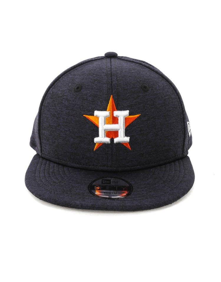 on sale 7e036 8d9b8 New Era Youth Houston Astros 9FIFTY Tech Snapback Navy – Culture Kings