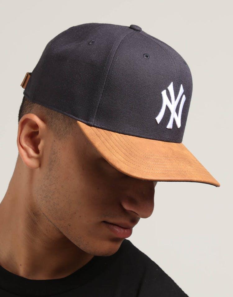sneakers for cheap 6b96e 13f77 47 Brand New York Yankees Tannery 2 Tone MVP DP Strapback Navy Tan –  Culture Kings