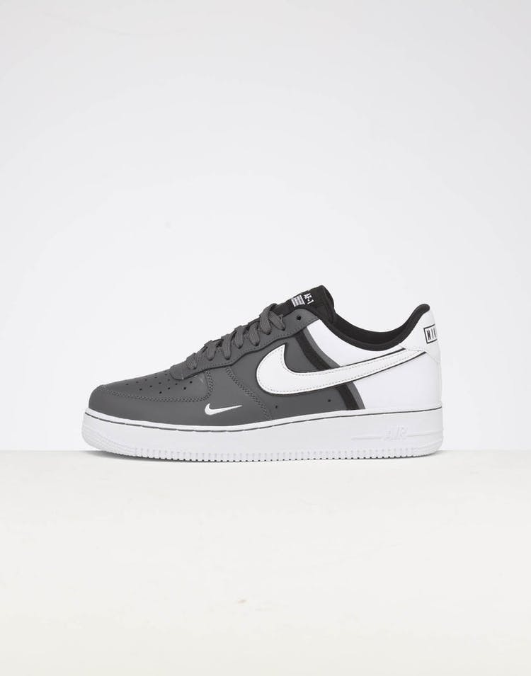 7ab9eb30a2 Nike   Air Force 1 '07 LV8 1   Grey/White/Black   Mens   Fresh Kicks –  Culture Kings