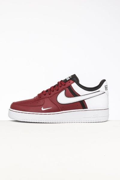 huge discount b1fee d476e Nike Air Force 1  07 LV8 1 Red White Black ...