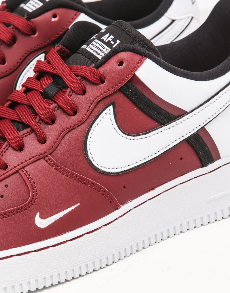Nike Air Force 1 '07 LV8 1 RedWhiteBlack