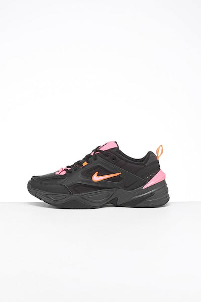 Nike M2K Tekno Black/Pink/Orange