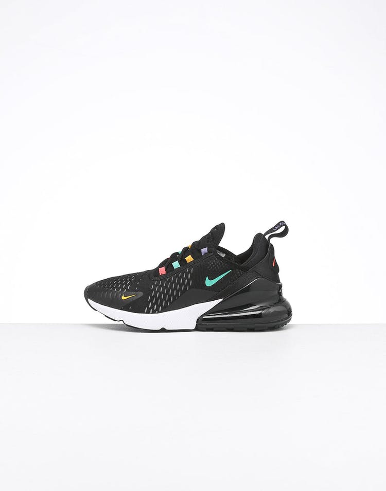 new product f684c 139c8 Nike Women's Air Max 270 Black/Crimson/Multi
