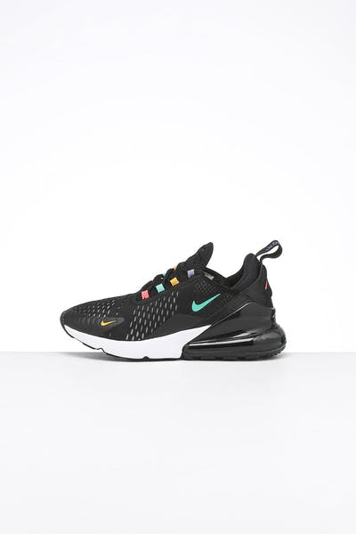 Nike Women's Air Max 270 Black/Crimson/Multi