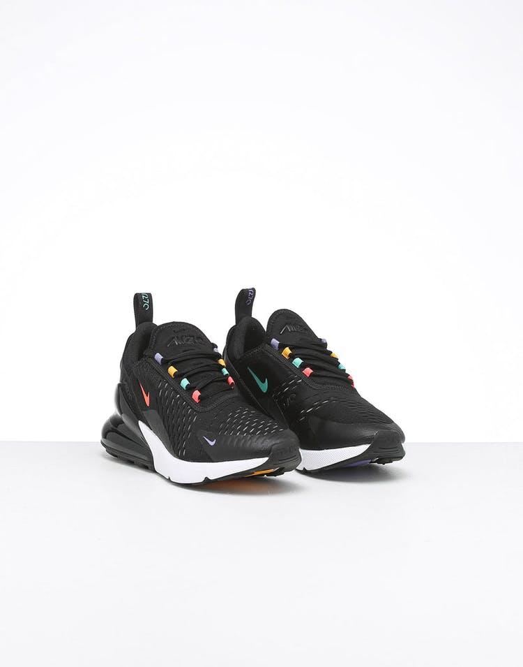 ee01a367b9cf5 Nike Women's Air Max 270 Black/Crimson/Multi