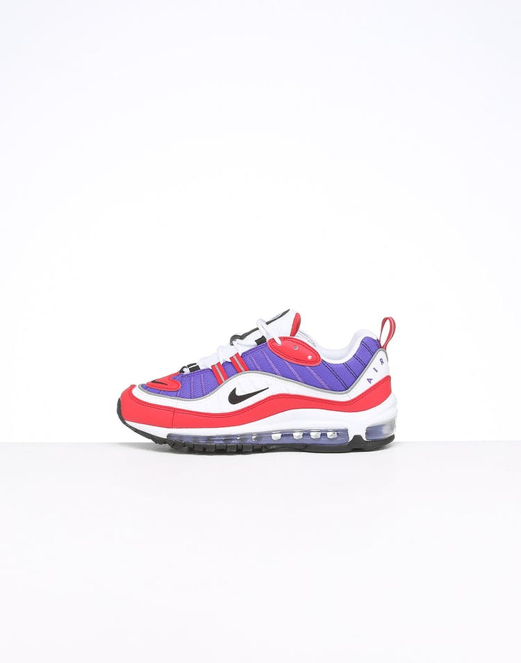 size 40 48e02 5e361 Nike Women's Air Max 98 Purple/White/Red