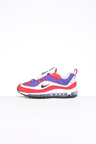 Nike Women's Air Max 98 Purple/White/Red