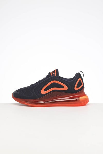 NIKE AIR MAX 720 OBSIDIAN/ORANGE