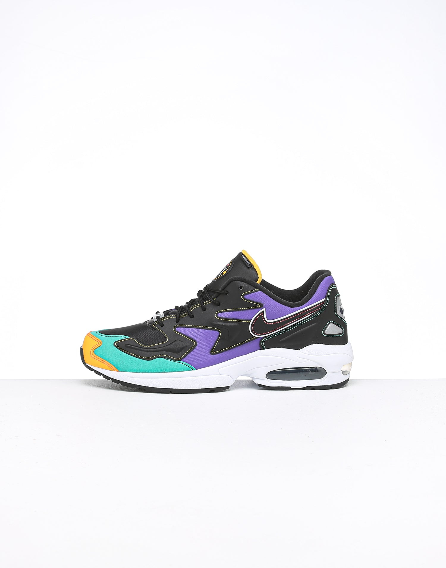 Nike Air Max2 Light Premium BlackCrimsonGreen
