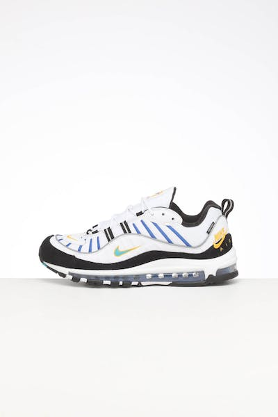 Nike Air Max 98 Premium White/Multi-Coloured