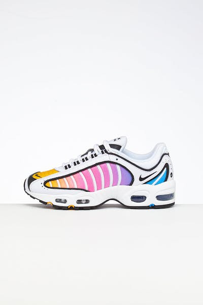 Nike Women's Air Max Tailwind IV White/Multi-Coloured