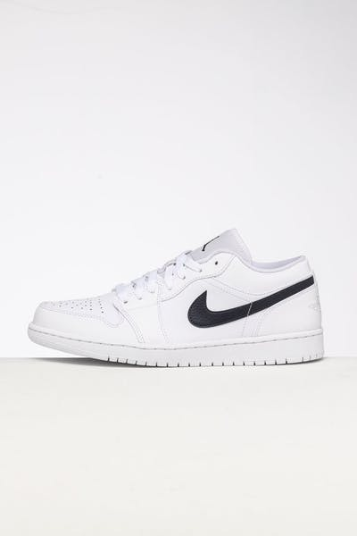 Jordan Air Jordan 1 Low White/Obsidian