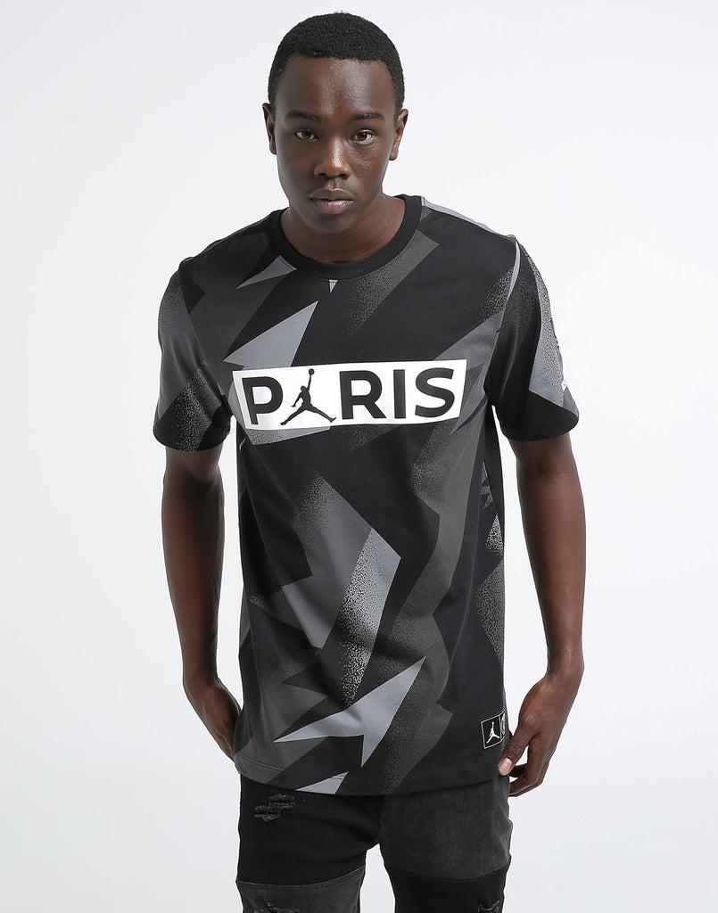 Jock Tee Ss Jordan Paris Tag X Germain Saint Black kOXiuZPT