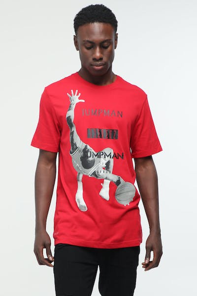 Jordan Jumpman Photo Tee Gym Red