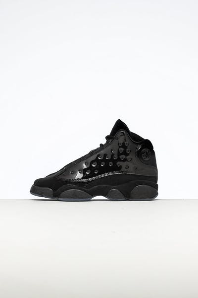 46987f2ac74a37 Jordan Kids Air Jordan 13 Retro (GS) Black Black