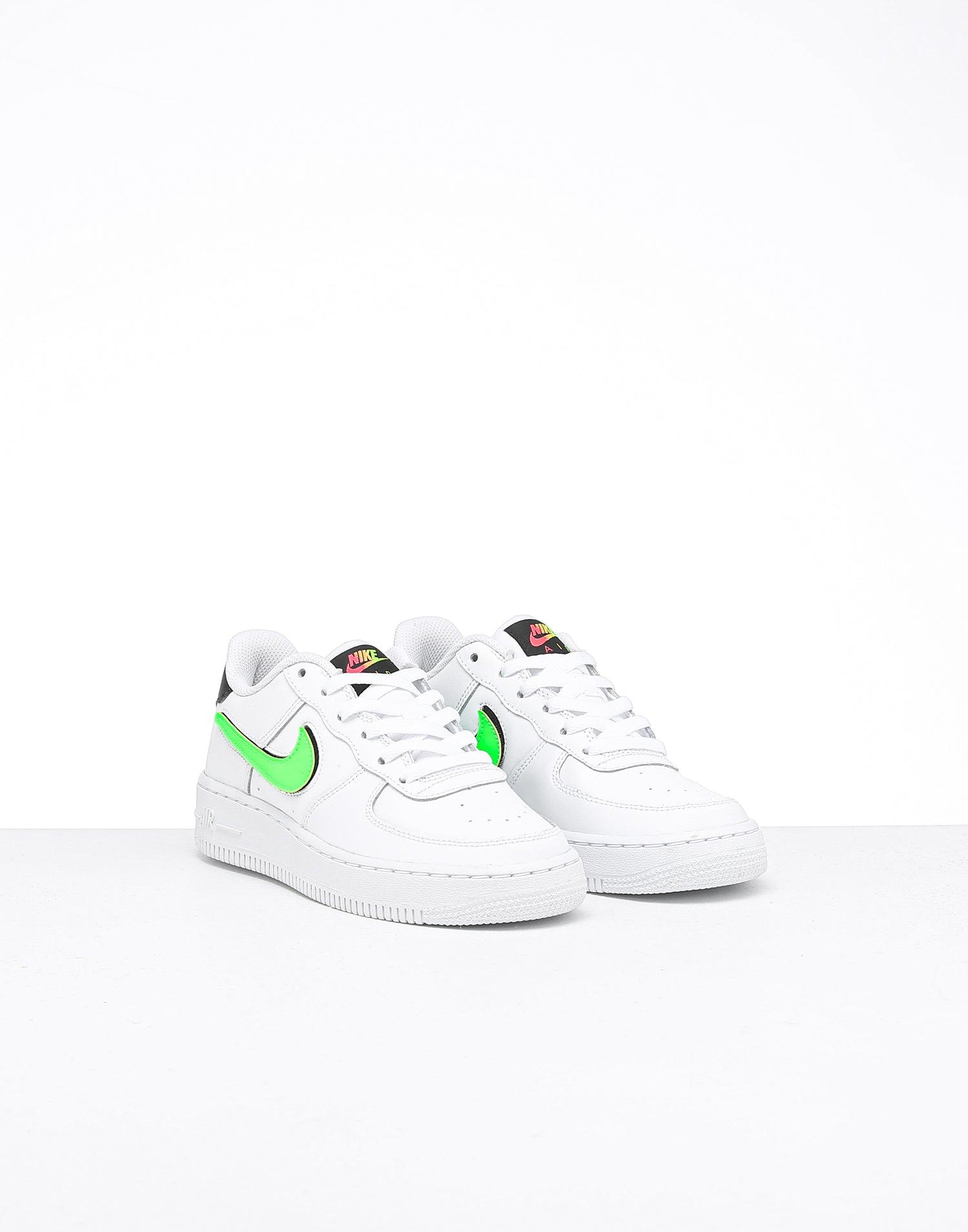 Nike Kids Air Force 1 Lv8 3 BlackBlack Black White