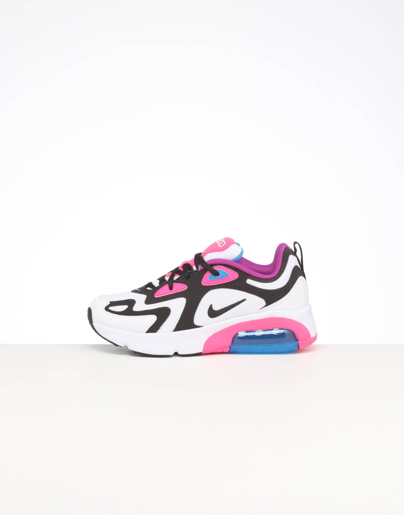 Nike Air Max 90 Youth GS shoes white black blue