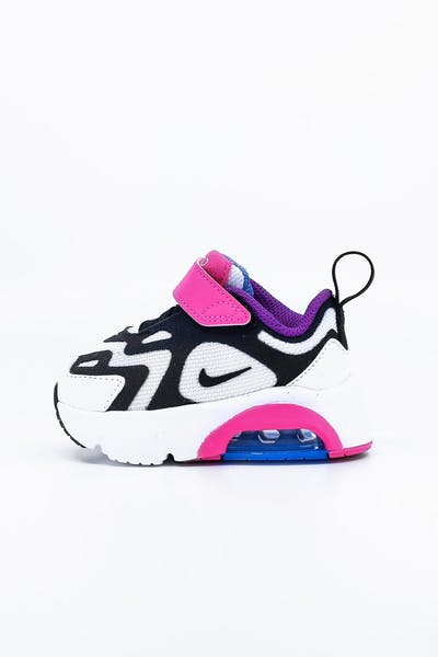 NIKE TODDLER AIR MAX 200 (TD) WHITE/MULTI-COLOURED