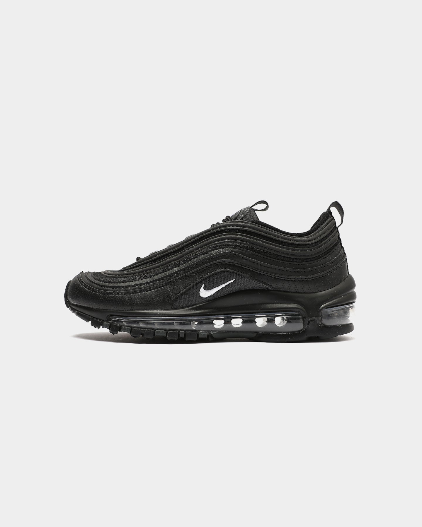 NIKE KIDS AIR MAX 97 (GS) BLACK/WHITE