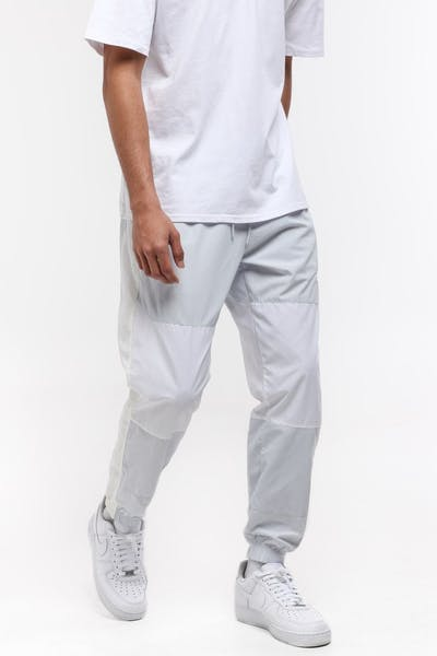 Nike Sportswear Woven Trousers Platinum/White