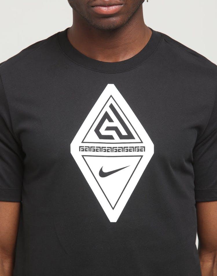 best sneakers bc97e 5ec49 Nike Dri-Fit Giannis Antetokounmpo SS Tee Black