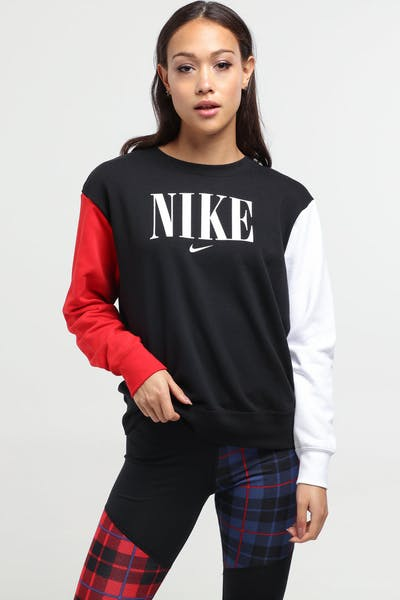 Nike Women's Sportswear Essential Black/Red/White