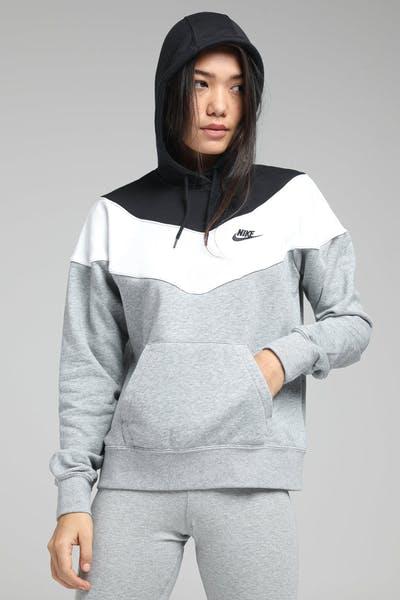 info for 19886 9d7f6 Nike Women s Sportswear Heritage Dark Grey White Black ...
