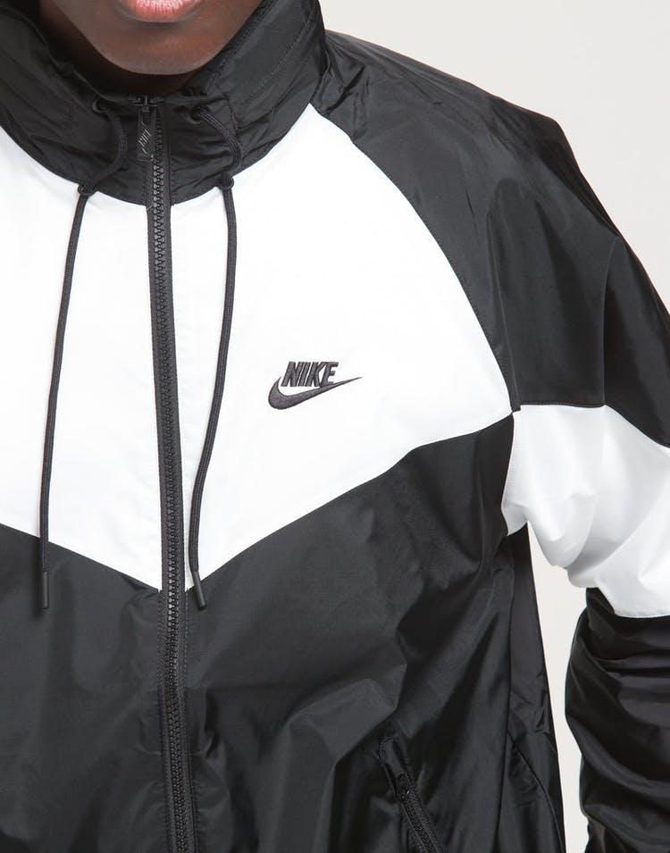 5111aee9a4a Nike Sportswear   Windrunner Black/White/Black   Mens   Now ...