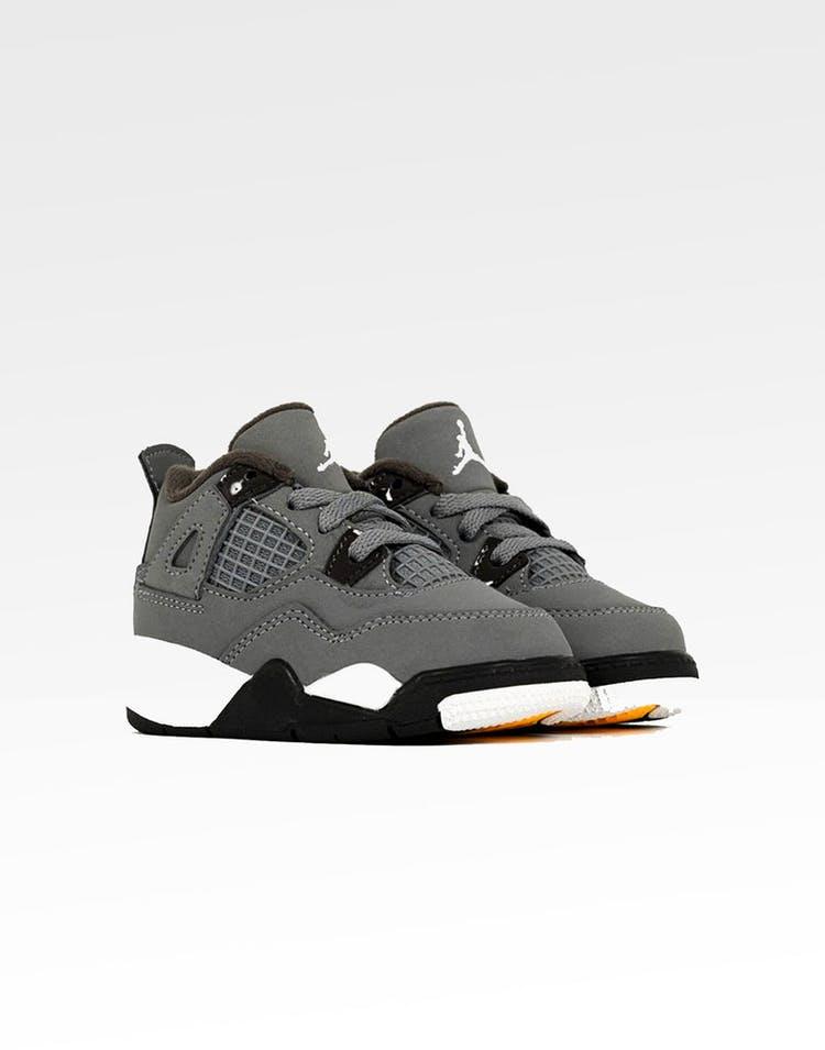 outlet store e91d8 5e792 Jordan Toddler Air Jordan 4 Retro (TD) Cool Grey/Chrome/Dark Charcoal