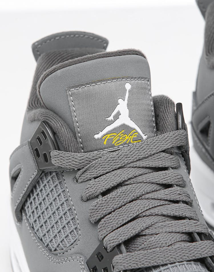 timeless design 9af1c a4dea Jordan Kids Air Jordan 4 Retro (GS) Cool Grey/Chrome/Dark Charcoal