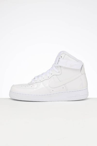 Nike Air Force 1 Hi Retro QS White/White/White