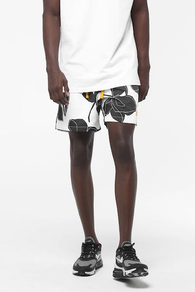 Nike Sportswear Shorts White/Black/Gold