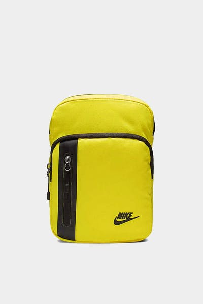 NIKE TECH SMALL ITEMS BAG YELLOW/BLACK