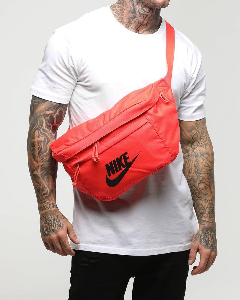 Nike Tech Hip Pack Bright Crimson Black Culture Kings